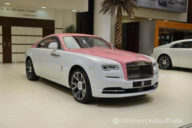 Xe Rolls-Royce màu hồng - Tại sao không? - 2