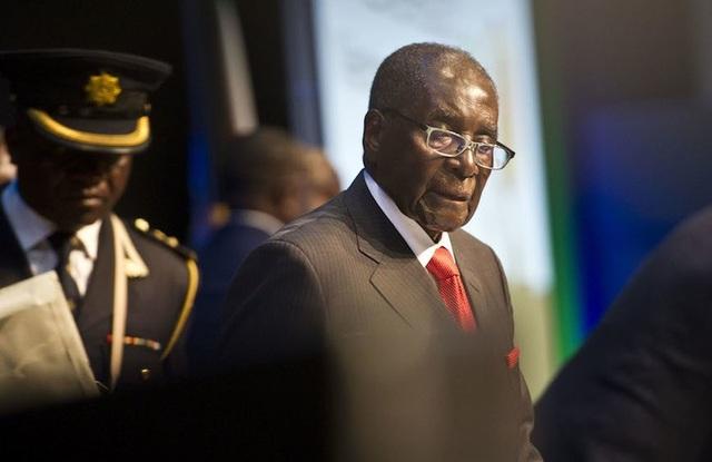 Tổng thống Zimbabwe Robert Mugabe (Ảnh: AFP)