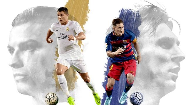 C.Ronaldo và Messi song hành thống trị thế giới trong 10 năm qua