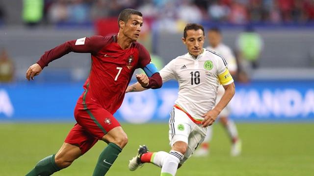 C.Ronaldo quyết tâm giúp Bồ Đào Nha vô địch Confed Cup 2017
