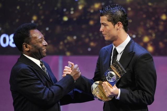 Vua bóng đá Pele thách thức C.Ronaldo ghi 1283 bàn