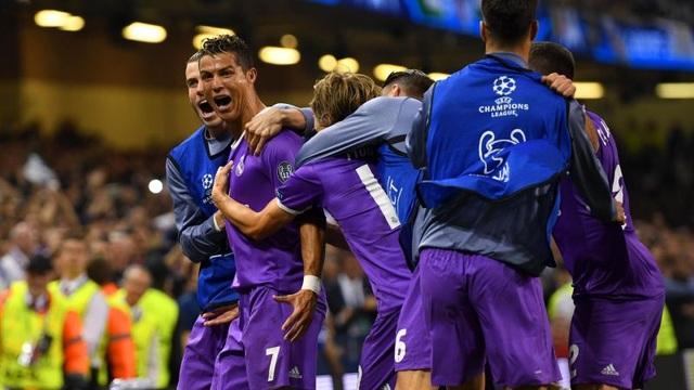 C.Ronaldo xuất sắc nhất trận chung kết Champions League