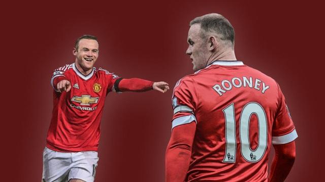Rooney gặt hái nhiều thành công sau 13 năm khoác áo MU