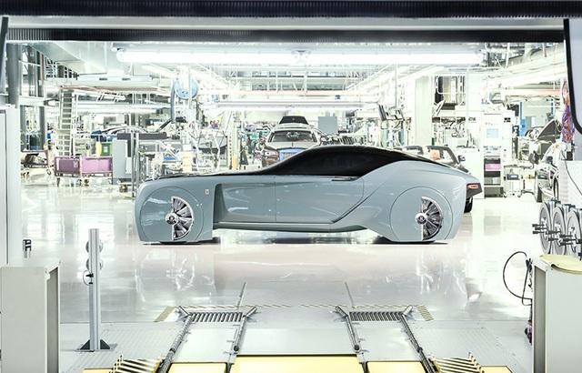 Rolls-Royce Vision Next 100 - Mẫu xe tương lai cho giới thượng lưu - 2