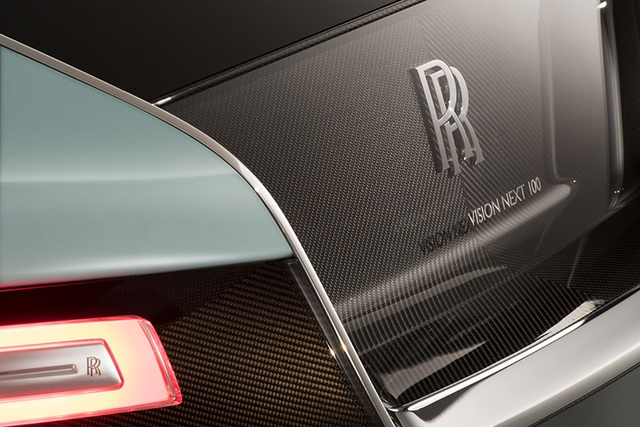 Rolls-Royce Vision Next 100 - Mẫu xe tương lai cho giới thượng lưu - 13