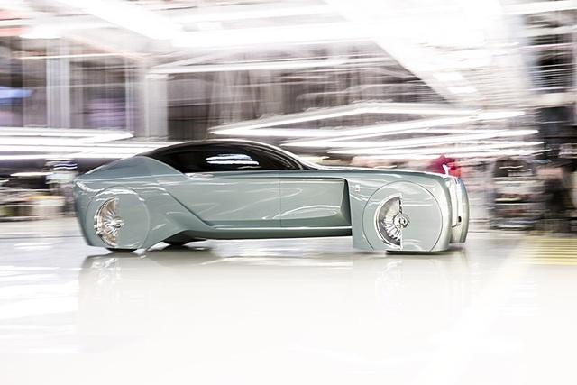 Rolls-Royce Vision Next 100 - Mẫu xe tương lai cho giới thượng lưu - 5