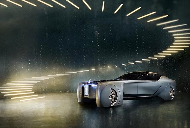 Rolls-Royce Vision Next 100 - Mẫu xe tương lai cho giới thượng lưu - 15