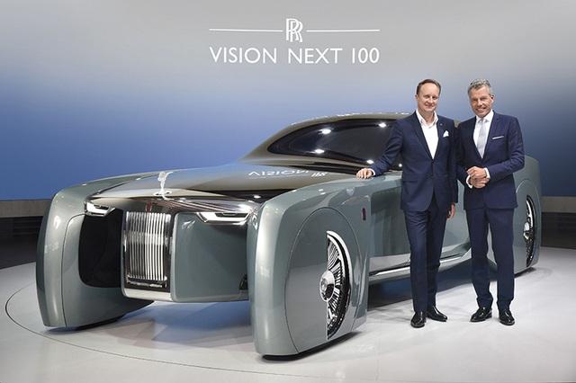 Rolls-Royce Vision Next 100 - Mẫu xe tương lai cho giới thượng lưu - 1
