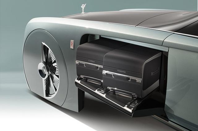 Rolls-Royce Vision Next 100 - Mẫu xe tương lai cho giới thượng lưu - 8