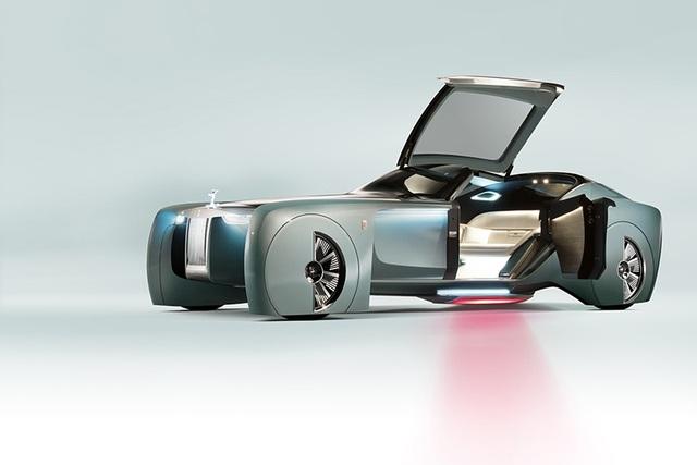 Rolls-Royce Vision Next 100 - Mẫu xe tương lai cho giới thượng lưu - 3
