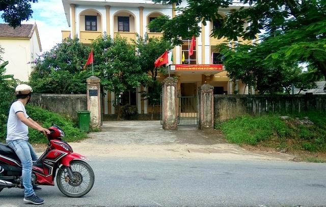 Trụ sở Ban quản lý rừng phòng hộ huyện Tuyên Hóa (Ảnh M.T)
