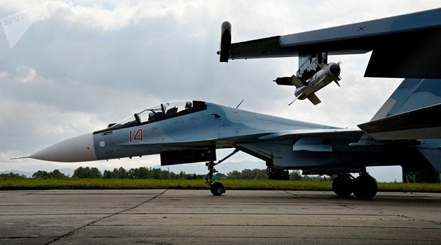 Một trong những nguyên mẫu đầu tiên, T-10-1, hiện đang được lưu trữ tại Bảo tàng không lực Trung ương, có trụ sở tại Moscow. (Ảnh: Sputnik)