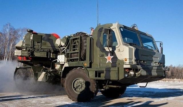 Hệ thống phòng không S-500 của Nga. (Ảnh: Sputnik)