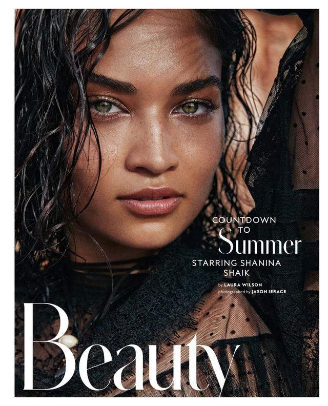 Shanina Shaik xinh đẹp và cá tính trên tạp chí Instyle số tháng 11/2017