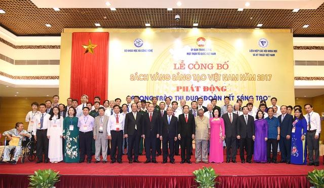 Lễ công bố Sách vàng sáng tạo Việt Nam năm 2017