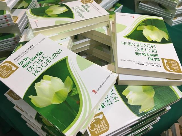 Cuốn sách Giá trị nhân văn của Di chúc Hồ Chí Minh nằm trong bộ sách Học tập và làm theo tư tưởng, đạo đức, phong cách Hồ Chí Minh.