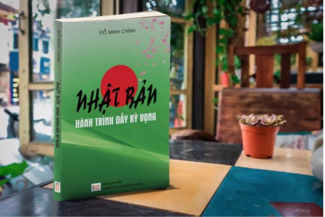 """Cuốn sách """"Nhật Bản – Hành trình đầy kỳ vọng"""" của tác giả Đỗ Minh Chính."""