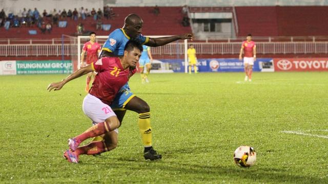 Sài Gòn FC và Khánh Hoà chia điểm trong trận cầu tẻ nhạt (ảnh:Trọng Vũ)