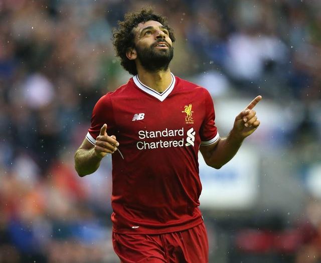 Mohamed Salah vượt lên dẫn đầu danh sách phá lưới ở Premier League