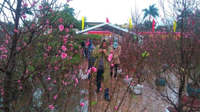Chợ quê nhộn nhịp, người dân đội mưa mang hương sắc Tết về nhà - 6
