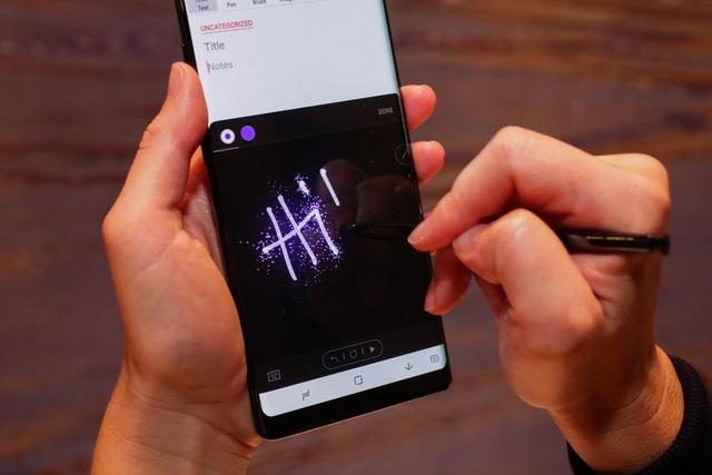 """Những tính năng """"ẩn"""" trên Galaxy Note8 - 1"""