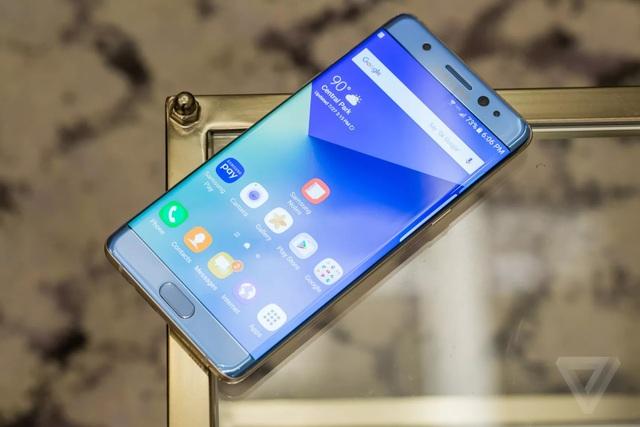 Sự cố Galaxy Note7 khiến Samsung thiệt hại 5,3 tỷ USD.