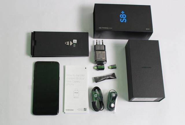 Đập hộp Galaxy S8+ chính hãng đầu tiên tại Việt Nam - 2