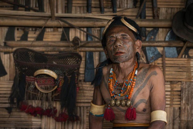 Bộ lạc Naga sống ở vùng biên giới giữa Ấn Độ và Myanamar