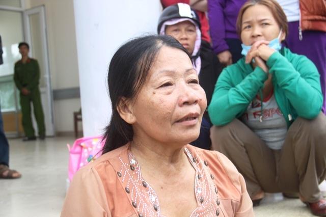 Bà Lành thuật lại sự việc và bày tỏ sự đau đơn khi con mình đột ngột ra đi