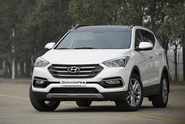 Hyundai Santa Fe được lắp ráp tại Ninh Bình với phiên bản hiện tại ra mắt năm 2016