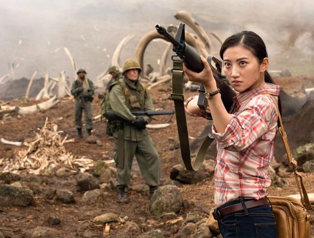 """Mới đây, Cảnh Điềm khiến người xem điện ảnh Châu Á thất vọng với vai diễn nhạt nhòa trong """"Kong: Đảo đầu lâu""""."""