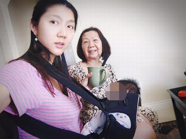 Ngọc Quyên cũng không muốn trở lại showbiz vì cô muốn dành toàn bộ thời gian bên chồng và con nhỏ.