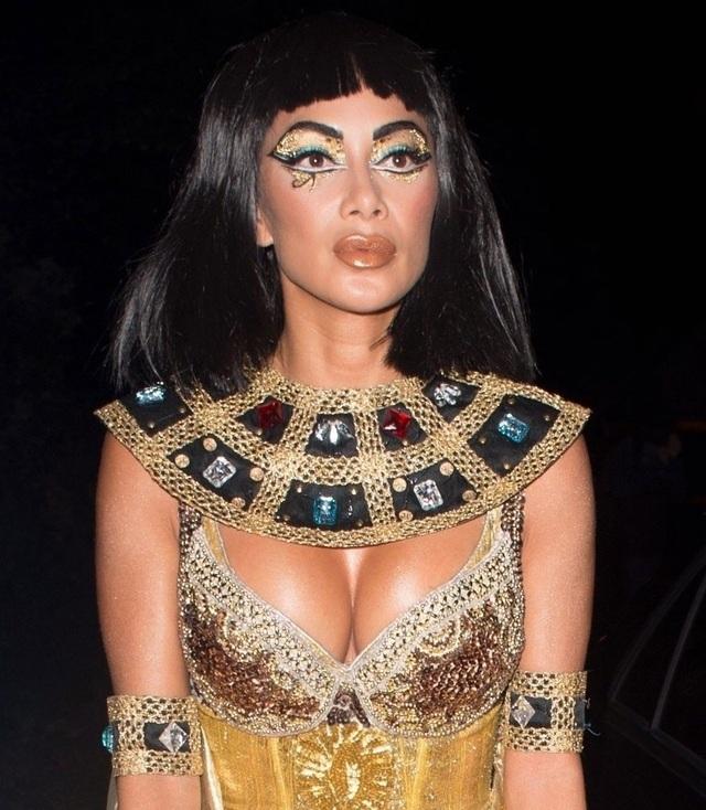 Bộ trang phục hóa trang của Nicole được đánh giá là xuất sắc nhất mùa Halloween năm nay.