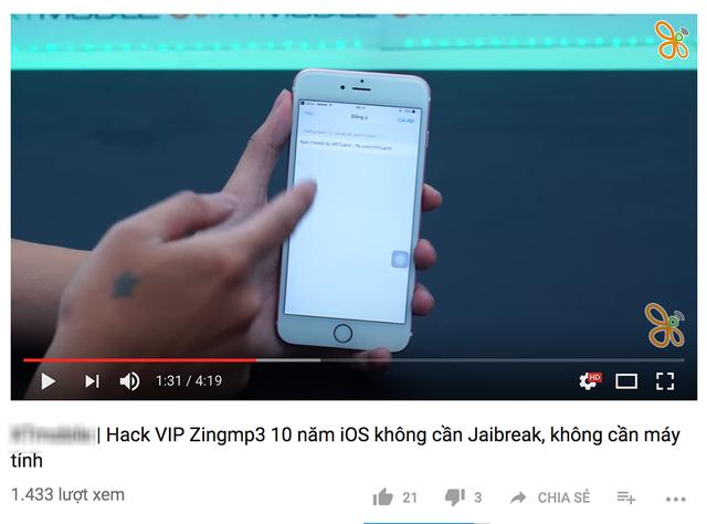 Rất nhiều hướng dẫn hack tài khoản Zing MP3 trên mạng đang được lan truyền chóng mặt