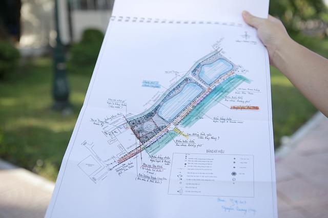 Bản vẽ chi tiết phố đi bộ Trịnh Công Sơn.