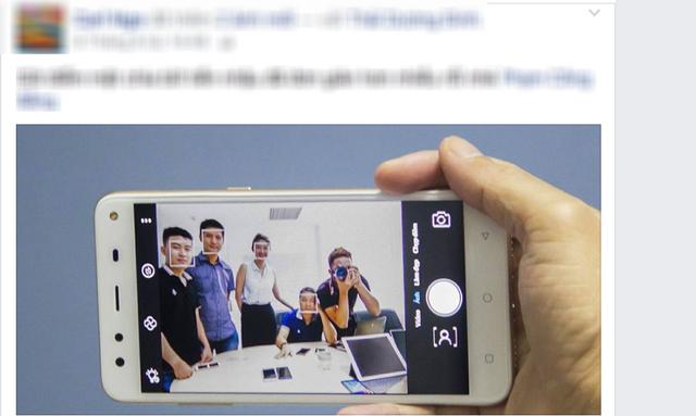 Hình ảnh xuất hiện trên Facebook của CEO MobiiStar