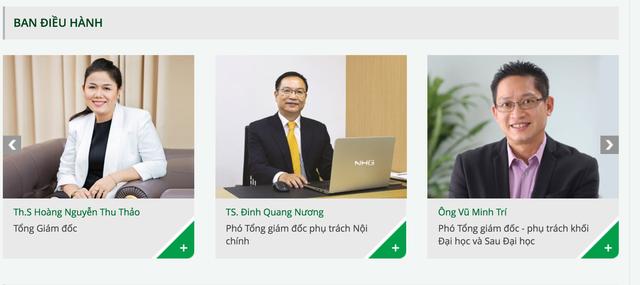 Ông Vũ Minh Trí xuất hiện trong ban điều hành của tập đoàn Nguyễn Hoàng