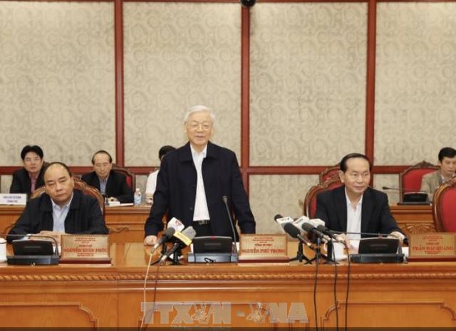 Bộ Chính trị làm việc với Thường vụ Thành ủy Hà Nội: Để Hà Nội trở thành thành phố rồng bay... - 3