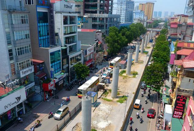 Metro3 tuyến metro Nhổn - Ga Hà Nội sẽ hoàn thành trong năm 2021
