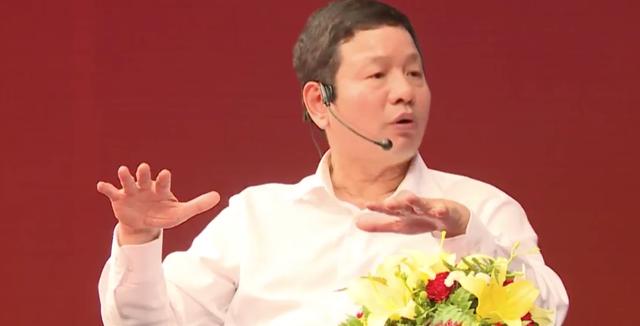 Ông Trương Gia Bình cũng đặt câu hỏi với Jack Ma