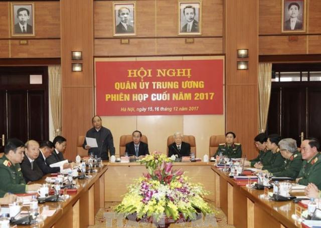 Toàn cảnh Hội nghị tổng kết công tác quân sự, quốc phòng năm 2017