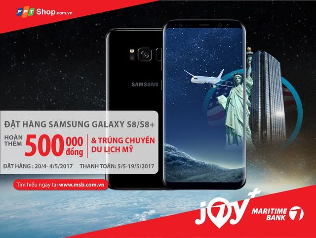 Hoàn tiền khi mua Samsung Galaxy S8/S8 Plus - 1