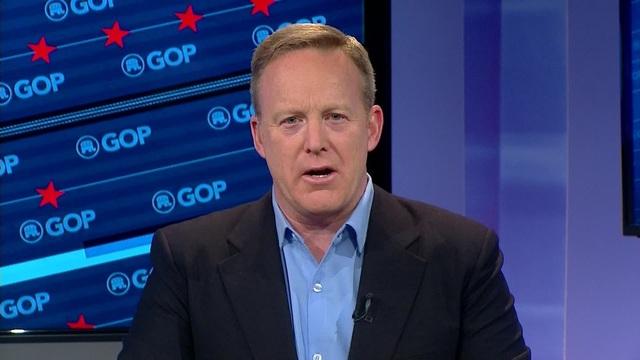 Ông Sean Spicer (Ảnh: Fox)
