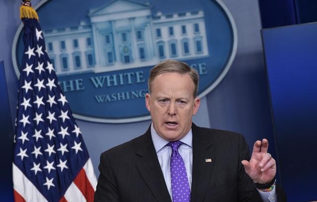 Thư ký báo chí Nhà Trắng Sean Spicer. (Ảnh: Getty)
