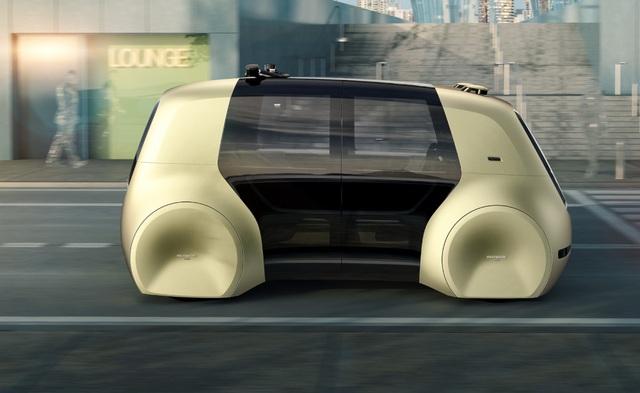 Volkswagen trình làng mẫu xe tự lái hoàn toàn đầu tiên - 6