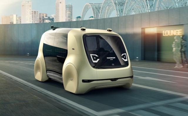 Volkswagen trình làng mẫu xe tự lái hoàn toàn đầu tiên - 3