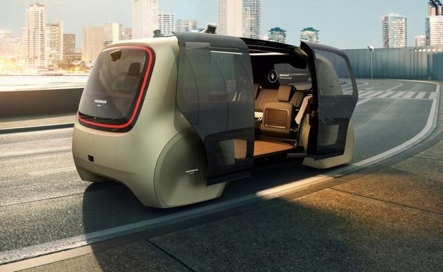 Volkswagen trình làng mẫu xe tự lái hoàn toàn đầu tiên - 7