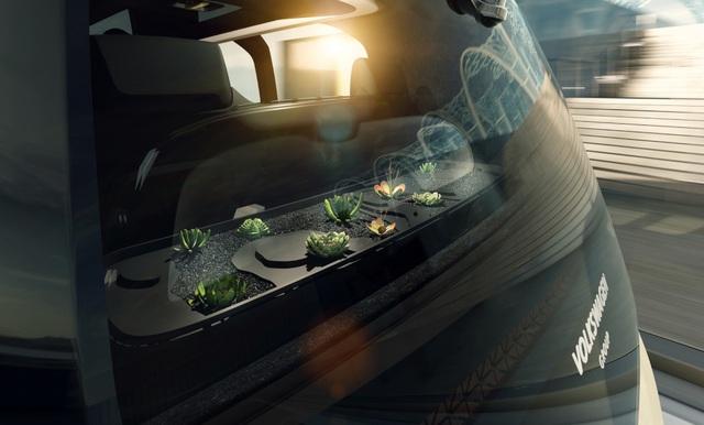Volkswagen trình làng mẫu xe tự lái hoàn toàn đầu tiên - 4