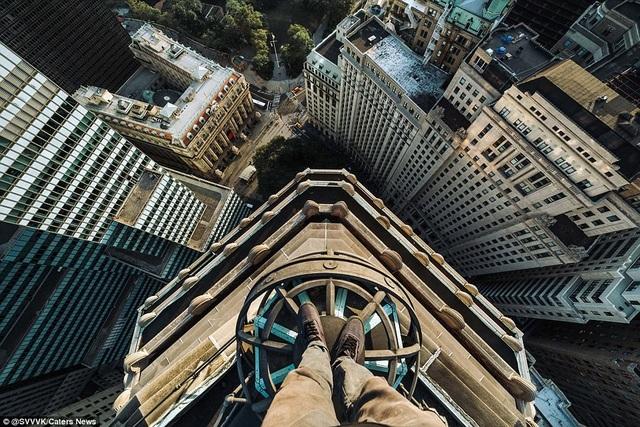 Họ chinh phục nhiều tòa nhà chọc trời trên thế giới