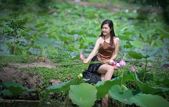 Bộ ảnh này Trang thực hiện cùng với nhiếp ảnh Đinh Văn Linh.